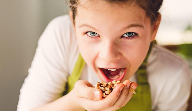 Ořechy a semena