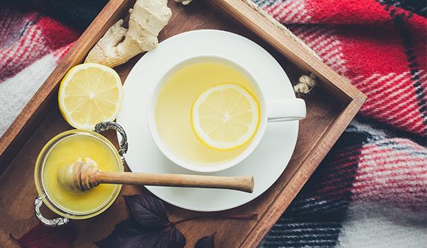 zdravý zázvorový čaj