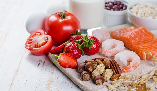 potraviny způsobující alergii