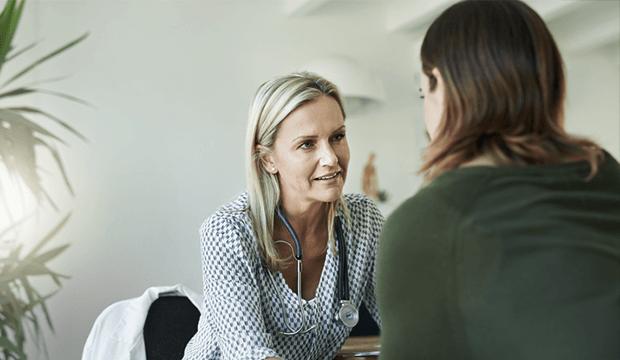 konzultácia s lekárkou