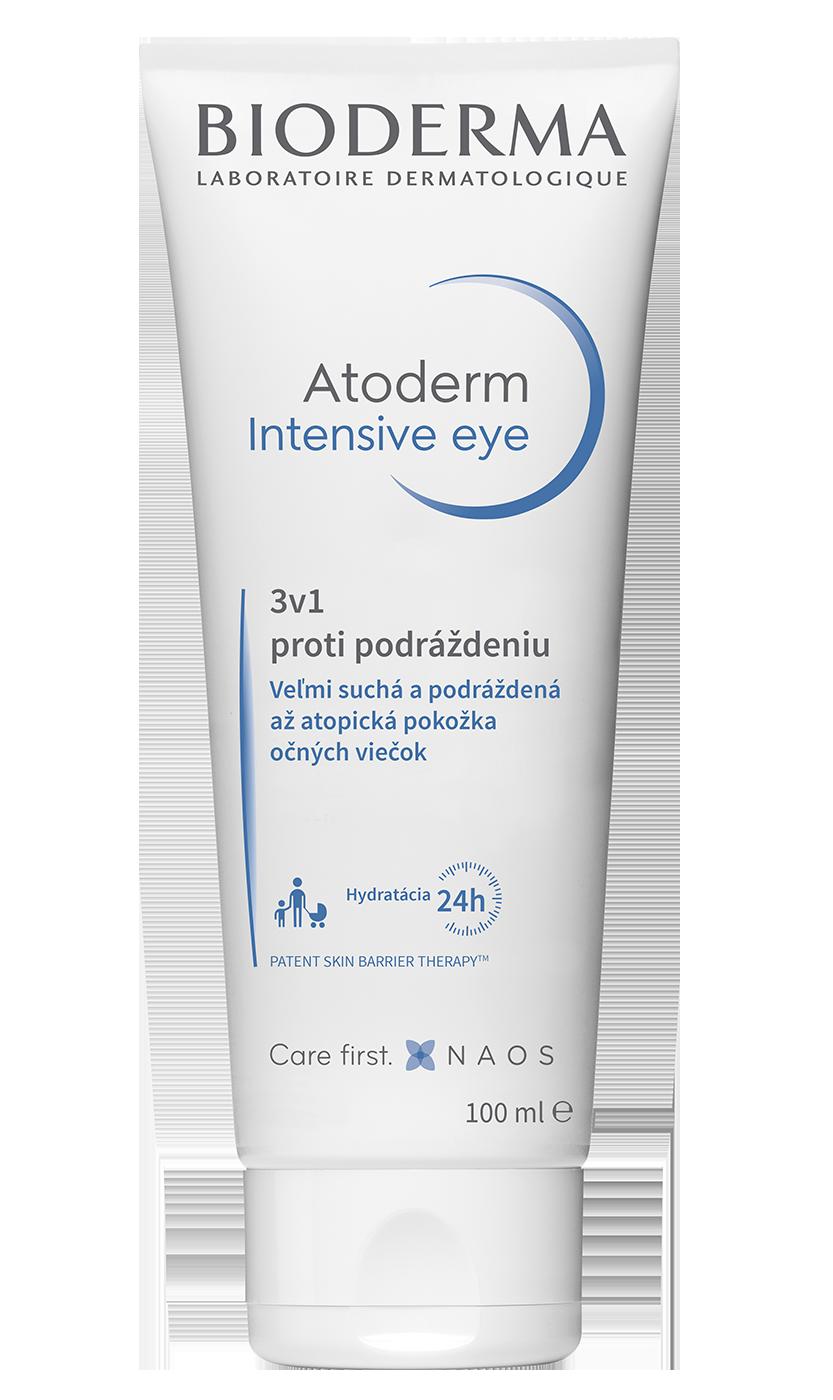 Nový pohľad na podráždenie očných viečok:  Atoderm Intensive Eye.