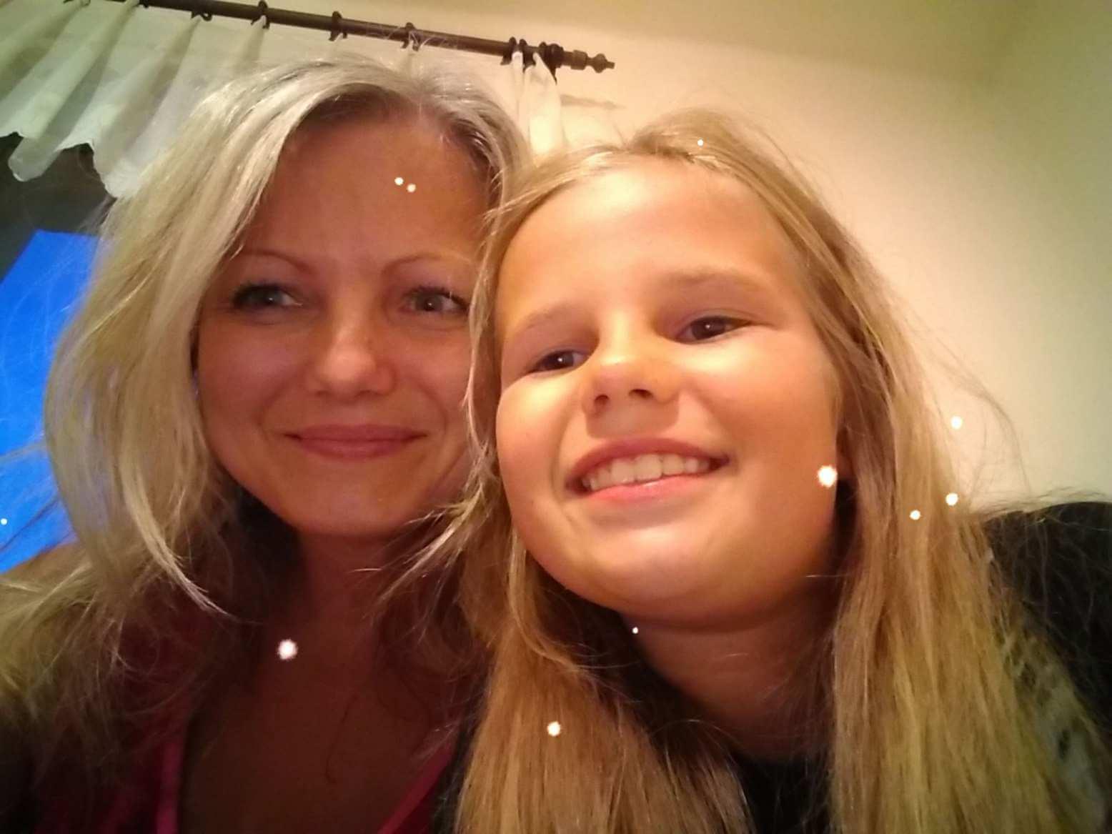 Dcéra s ekzémom
